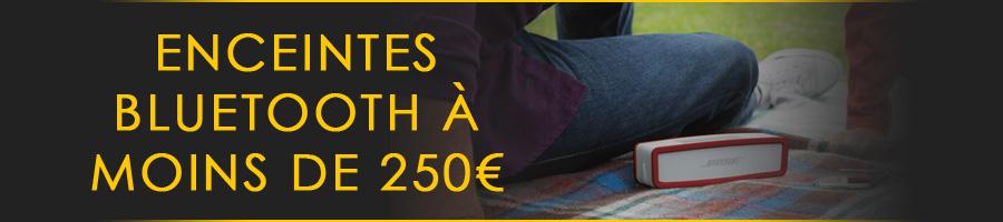Enceintes portables à moins de 250 euros