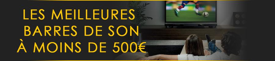 Meilleures barre de son 500€