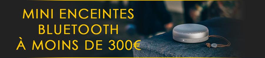 Mini enceintes bluetooth à moins de 300€