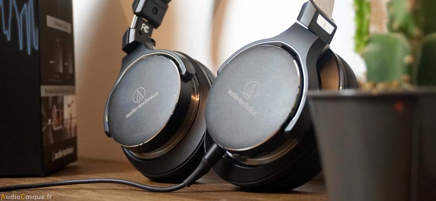 Présentation du casque Audio-Technica ATH-MSR7NC
