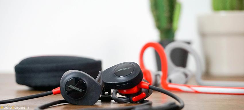 Autonomie écouteurs Bluetooth Bose SoundSport Pulse