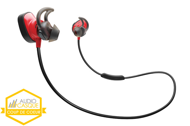 Test des écouteurs Bluetooth Bose SoundSport Pulse