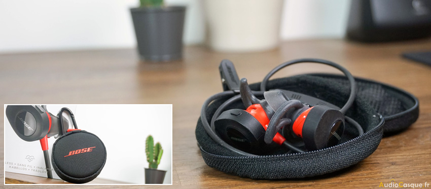 Etui de protection des Bose SoundSport Pulse Wireless