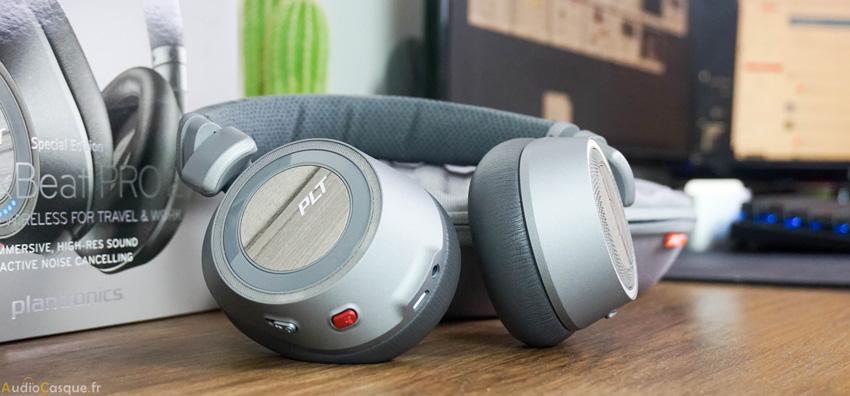 Casque avec réduction active du bruit