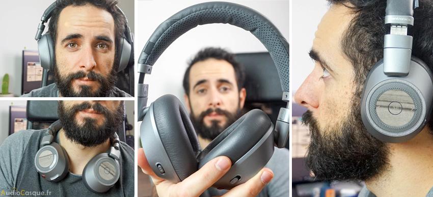 Confort du casque BackBeat Pro 2 SE