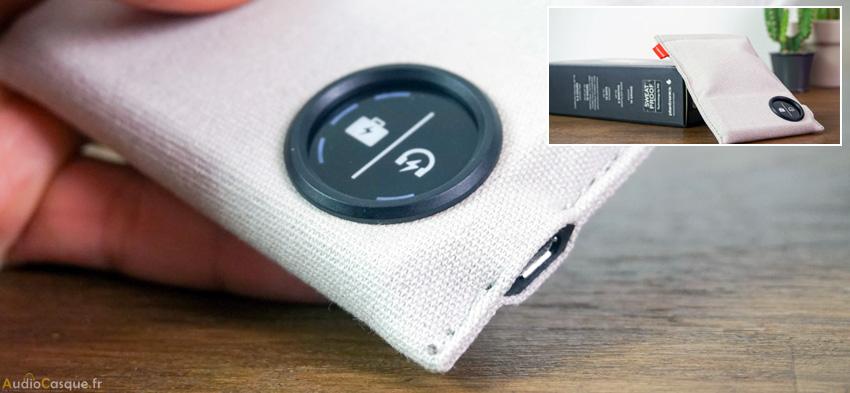Indicateur d'autonomie sur écouteurs Bluetooth
