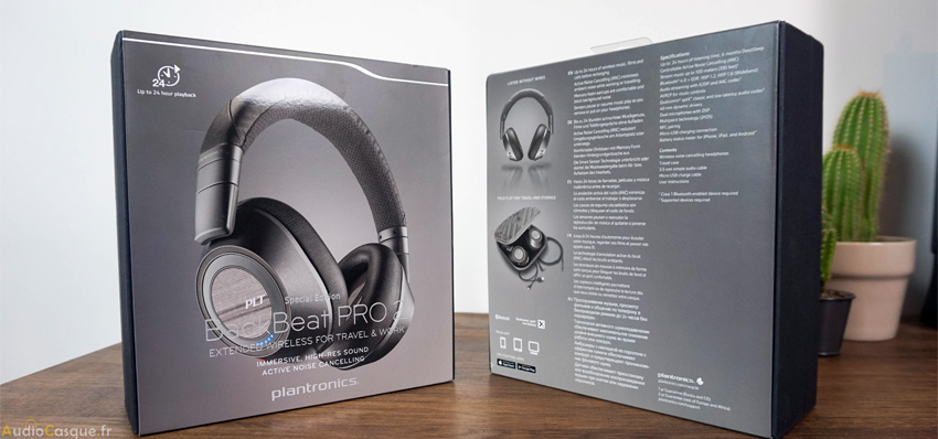 Packaging du BackBeat Pro 2