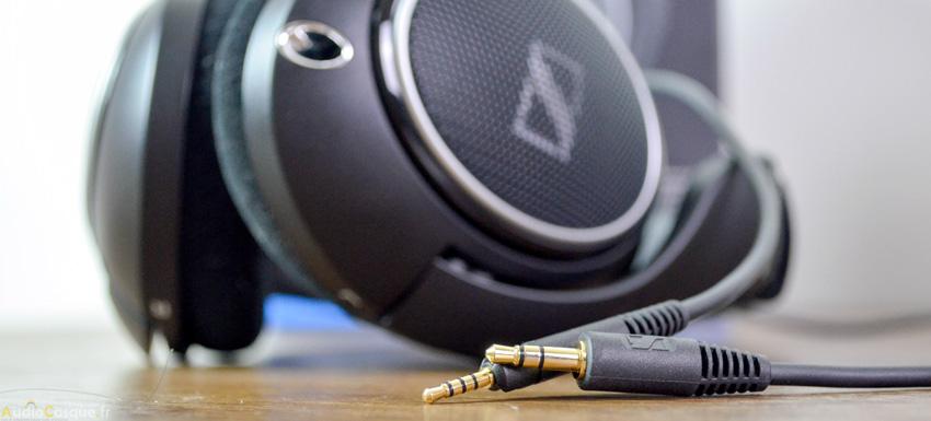 Casque audio avec câble amovible