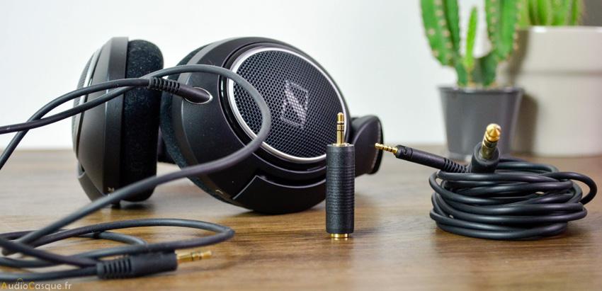 Casque audiophile conception ouverte