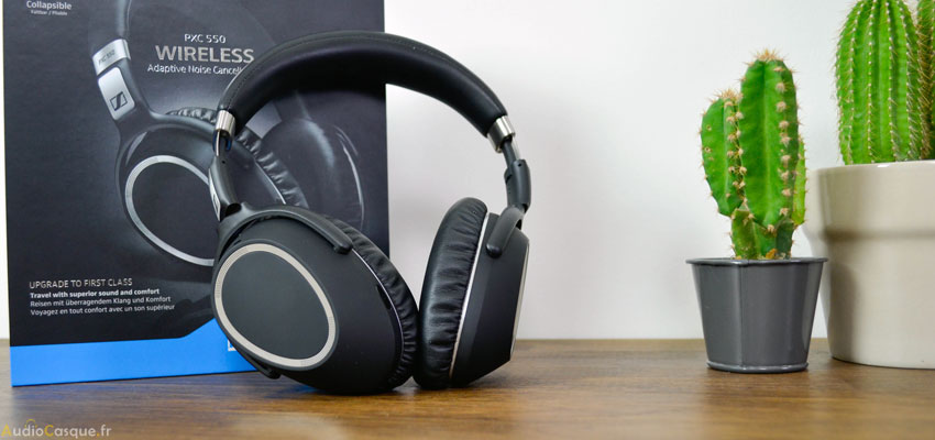 Casque Bluetooth Sennheiser PXC 550
