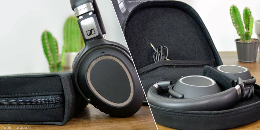 Etui de protection pour casque audio Sennheiser