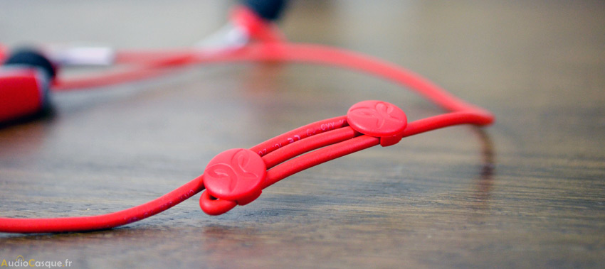 Ajustement taille câble écouteurs running