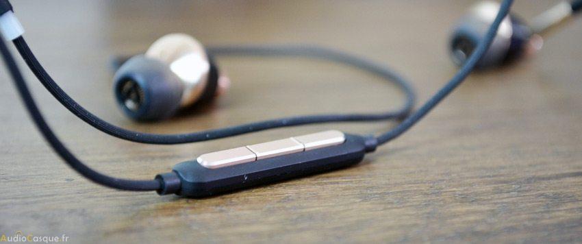 Telecommandes 3 boutons et microphone sur télécommande