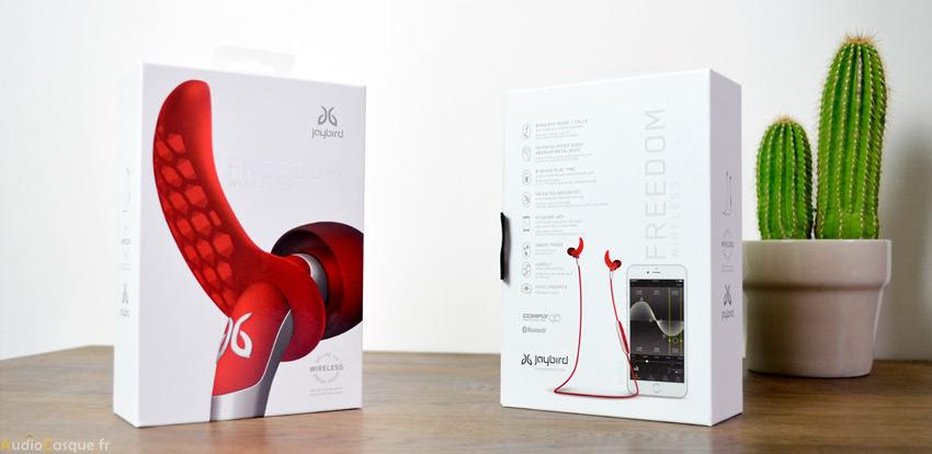 Packaging écouteurs sport bluetooth