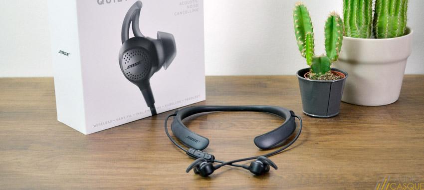 Bose QuietControl 30, des écouteurs Bluetooth avec ANC