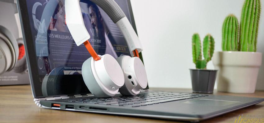 Le casque peut-être connecté en Bluetooth à plusieurs appareils de façon simultannée