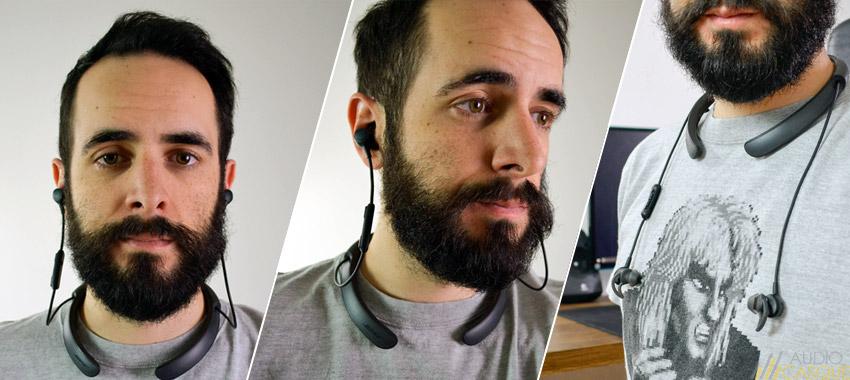 Confort et tenue des écouteurs QuietControl30