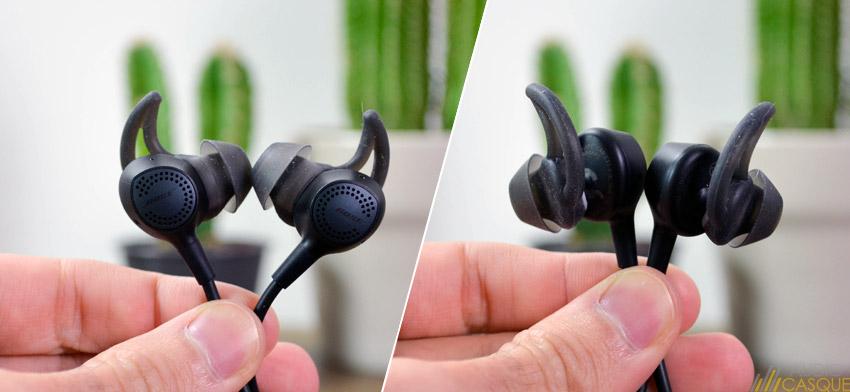 Zoom sur les écouteurs Bose QuietControl30