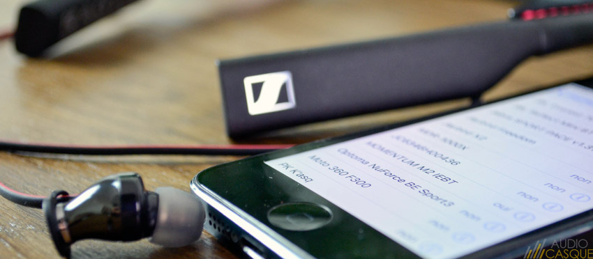 Ecouteurs Bluetooth de la gamme Sennheiser Momentum