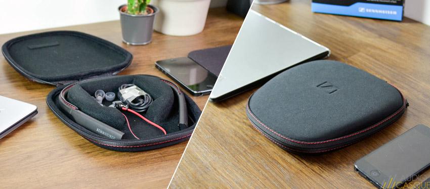 Pochette de protection pour les écouteurs Sennheiser Momentum Wireless