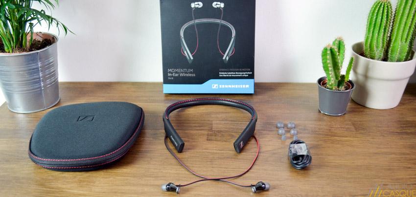 Unboxing des nouveaux écouteurs sans-fil de Sennheiser