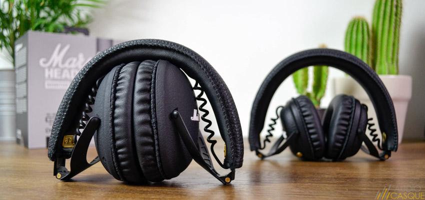 Casque audio à la fois compact et robuste
