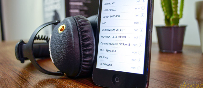 Le Marshall Monitor est compatible Bluetooth aptX