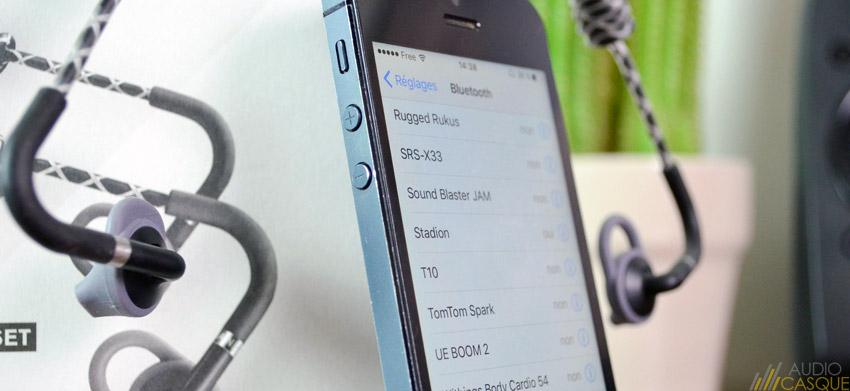 Ecouteurs Bluetooth 4.0 pour le running et le sport