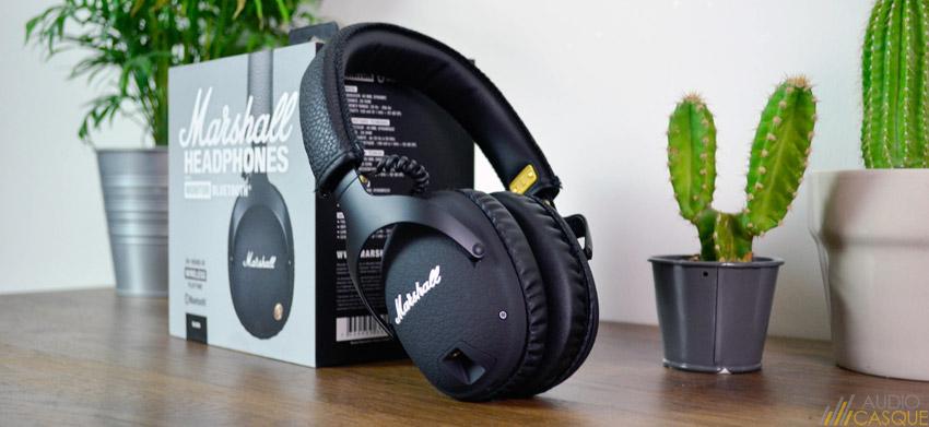 Marshall Monitor Bluetooth - Présentation et avis sur le casque