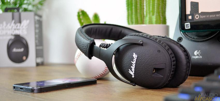 Notre avis sur la qualité audio du Marshall Monitor Bluetooth