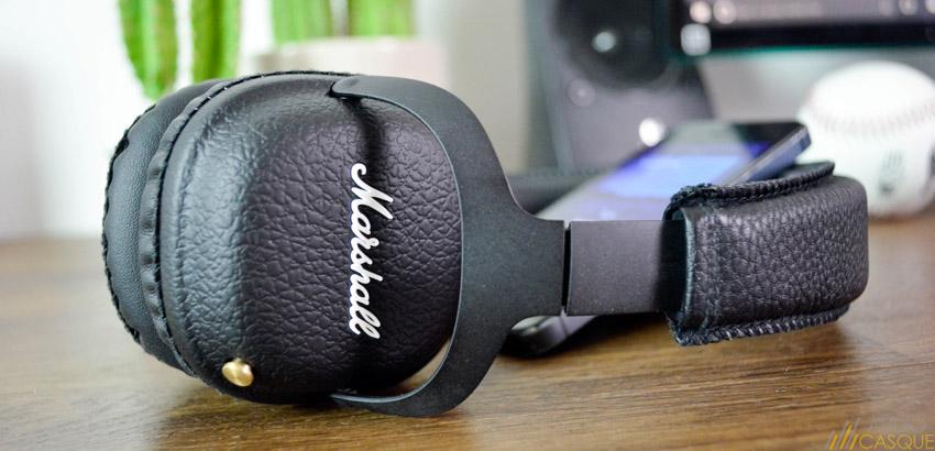 Qualité audio du casque Marshall Mid, fonctionnant sans-fil
