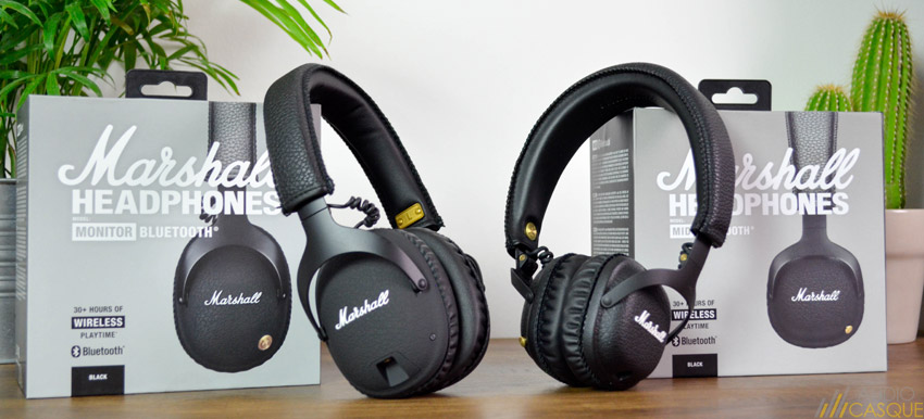 Comparatif des casques audio Marshall