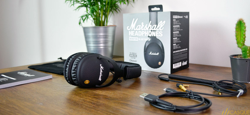 Unboxing du casque Marshall Monitor Bluetooth