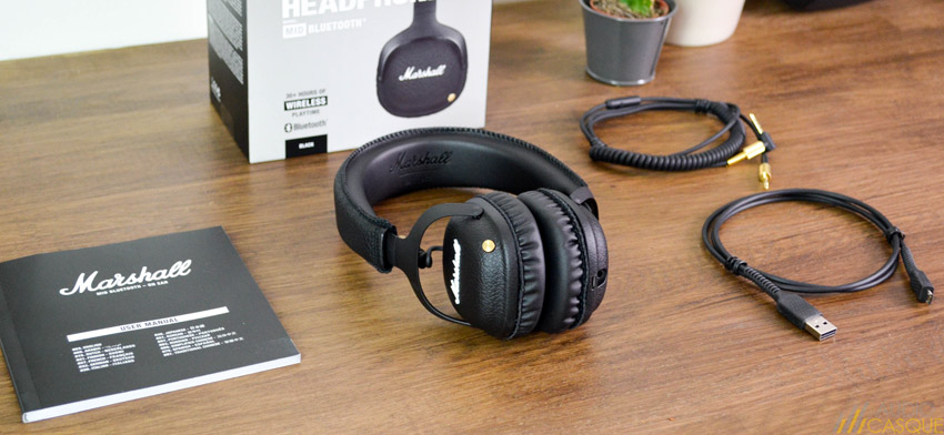 Unboxing du casque Marshall Mid Bluetooth