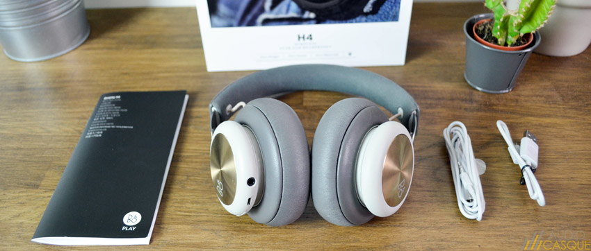 Unboxing du casque BeoPlay H4