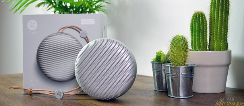 BeoPlay A1, une bonne enceinte Bluetooth pour environ 200€