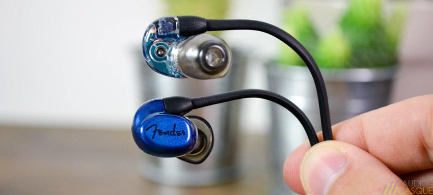 Ecouteurs pour le monitoring et la musique