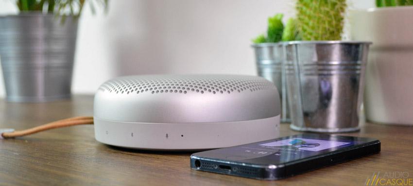 L'enceinte A1 offre une bonne qualité audio pour sa taille
