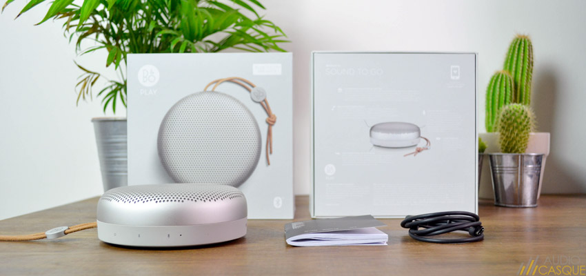 Unboxing de la BeoPlay A1