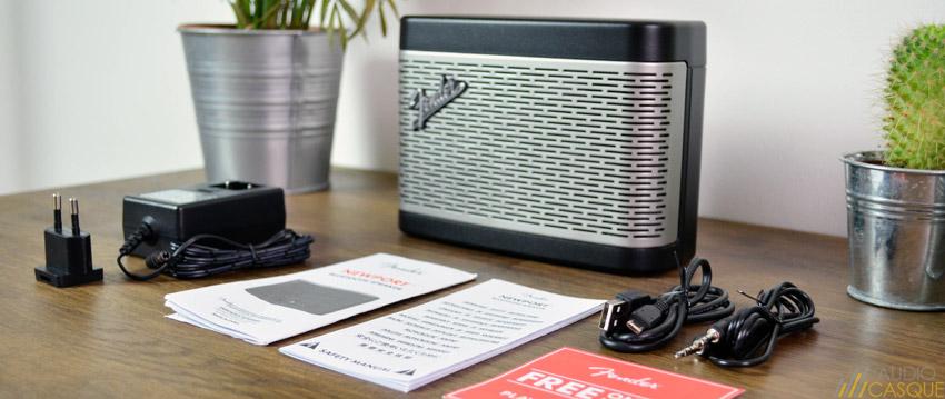 Unboxing et présentation de l'enceinte Fender Newport