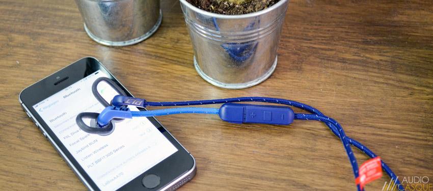 Ecouteurs Bluetooth Sport de chez Plantronics