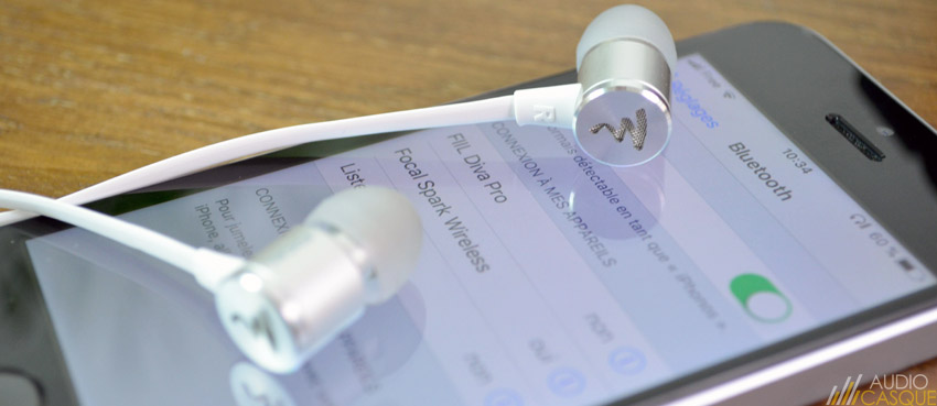 Ecouteurs sans-fil Bluetooth de chez Focal