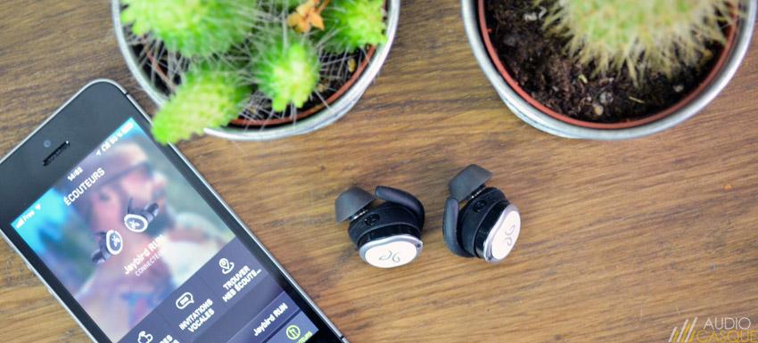 Ecouteurs intra Bluetooth et sans-fil pour le sport