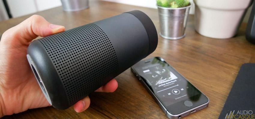 Enceinte Bluetooth avec son à 360°