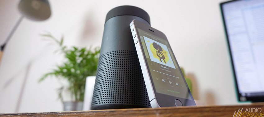 Performances Bose SoundLink Revolve