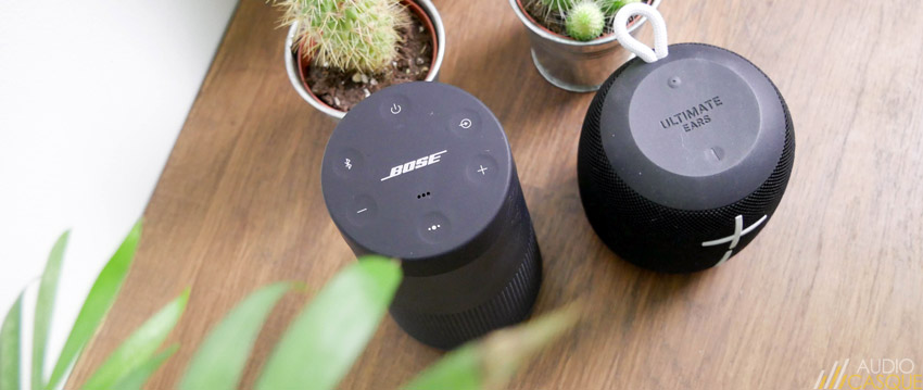 Bose Revolve ou Ultimate Ears Wonderboom