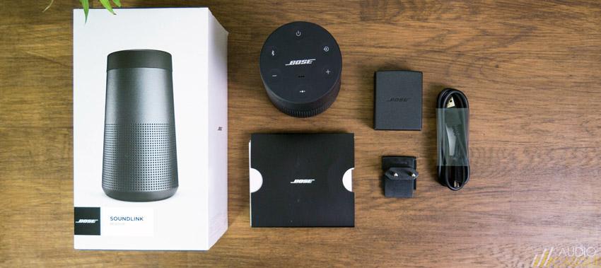 Unboxing Bose SoundLink Revolve