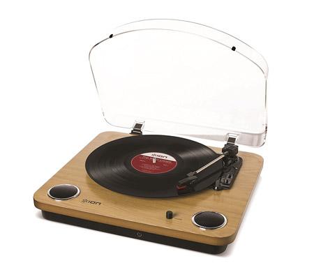 Platine vinyle pas chère avec haut parleur intégrés