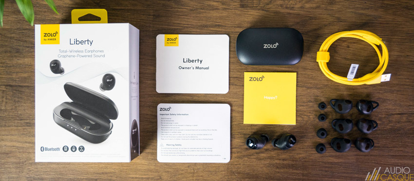 Unboxing Zolo Liberty