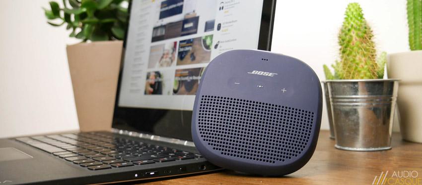 Qualité sonore de l'enceinte Bose Micro